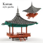 Korean style gazebo