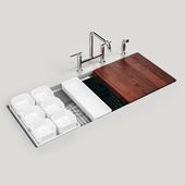 """KOHLER Stages 45 """"under-mount single-bowl kitchen sink"""