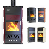 Fireplace Klover - BELVEDERE 30