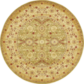 Classical round classic carpet pattern