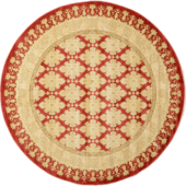 Round classical classic carpet