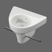 Angled sink Duravit Starck 2 art 071450
