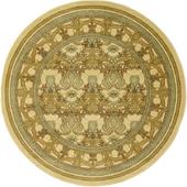 Round classic carpet