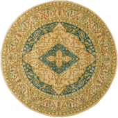 Classical European carpet round