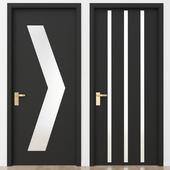 Black modern door_2