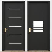 Black modern door_3
