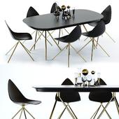 BoConcept Ottawa Table and Chair