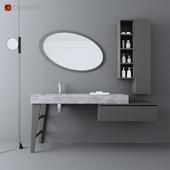 Wash basin of Legnobagno Freedom F24