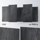 Tiles Rettificato Dark Marca Corona