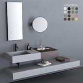 Ceramica Cielo Modulo Washbasin