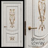 Interroom door of Novella Krona 3 colors