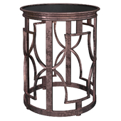 Luxury Wireframe Side Tables № 003
