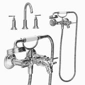 Classic bath mixer