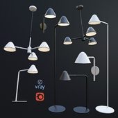 DEVON, pendant, table, wall and floor lamps from the company LUCIDE, Belgium.