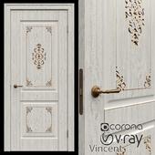 Interroom door of Vincent Krona 3 colors