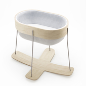 Lucie Koldova Cradle - Nut Bed