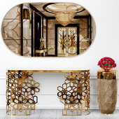 Longhi console table