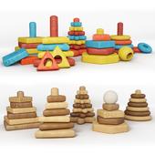 Children's toy, pyramid