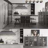 Snaidero Frame Kitchen composition 3