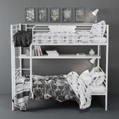 Двухъярусная кровать Svarta от IKEA