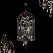 Steampunk Birdcage Chandelier 45 black