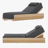 McQueen Chaise By Danao Living