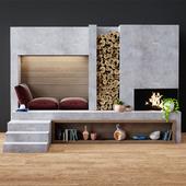 Modern fireplace 3