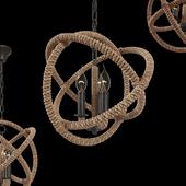 Tomshine  Pendant Lights rope 3  \ Rope LOFT1194-3