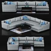 Taylor King Eaton Sectional Sofa