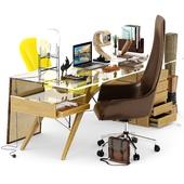Cavour Writing Desk by Carlo Mollino