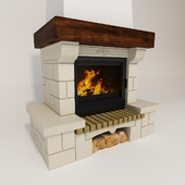 Fireplace chatillon