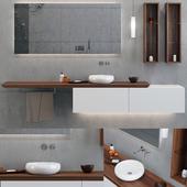 Bathroom Set / Bathroom Furniture & Decor 01