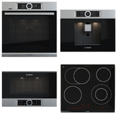 Bosch set - PKN675DK1D, CTL636ES1, BFL634GS1, HSG636XS6
