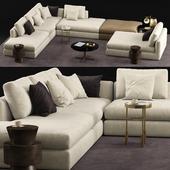 Phoenix sofa - MisuraEmme