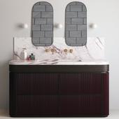 Bathroom Set / Bathroom Furniture & Decor 02
