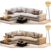 Ditre Italia Bijoux Sofa (2 Materials)