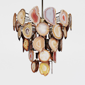 Chandelier Marjorie Skouras Bebe chandelier Agate natural