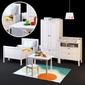 Набор мебели СУНДВИК от IKEA для детской