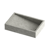 Concrete Rectangular sink
