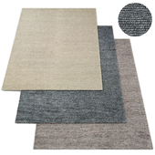 Shaded loop rug rh