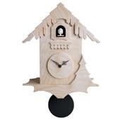 Chalet Style Cuckoo Clock - Birch