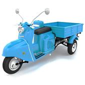 Мотороллер Муравей советский трёхколёсный