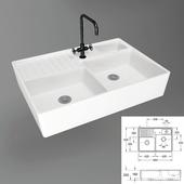 Sink VILLEROY & BOCH Double bowl sinks