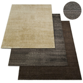 Luxe Heathered Wool Rug RH Collection