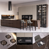 Кухня Poliform Shape EUROCUCINA 2018 (vray GGX, corona PBR)