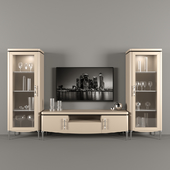 DV home collection. TV unit - Display case