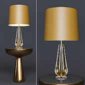 Table Lamp Flato and Side Table Lindos low (Eichholtz)