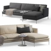 Zanotta William Corner sofa