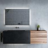 Bathroom Set / Bathroom Furniture & Decor 03