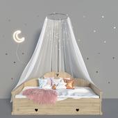 Детская кровать и аксессуары